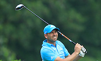 Sergio Garcia (ESP) on the 7th tee during Round 3 of the CIMB Classic in the Kuala Lumpur Golf & Country Club on Saturday 1st November 2014.<br /> Picture:  Thos Caffrey / www.golffile.ie