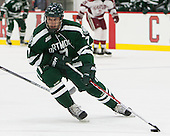 Rick Pinkston (Dartmouth - 7) - The Harvard University Crimson tied the visiting Dartmouth College Big Green 3-3 in both team's first game of the season on Saturday, November 1, 2014, at Bright-Landry Hockey Center in Cambridge, Massachusetts.