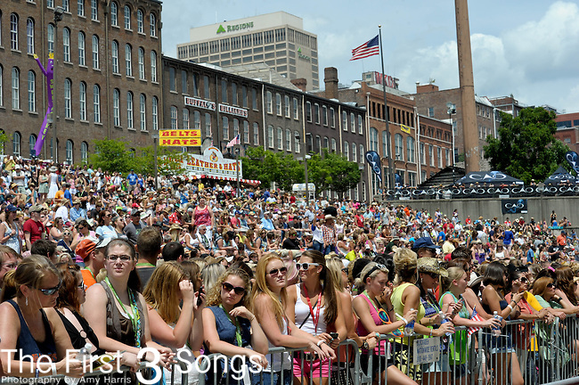 Craig Morgan performs at the Riverfront Stage during the 2012 CMA Music Festival in Nashville, Tennessee.