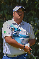 Kiradech Aphibarnrat (THA) watches his tee shot on 2 during round 3 of the World Golf Championships, Mexico, Club De Golf Chapultepec, Mexico City, Mexico. 3/3/2018.<br /> Picture: Golffile | Ken Murray<br /> <br /> <br /> All photo usage must carry mandatory copyright credit (&copy; Golffile | Ken Murray)
