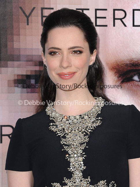 """Rebecca Hall attends The L.A. Premiere of Alcon Entertainment's """"TRANSCENDENCE"""" held at The Regency Village Theater in Westwood, California on April 10,2014                                                                               © 2014Hollywood Press Agency"""