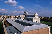 Camposanto und Dom, Pisa,Toskana, Italien, Unesco-Weltkulturerbe