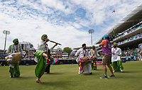 Entertainment at the hot sport during the hydration break during Pakistan vs Bangladesh, ICC World Cup Cricket at Lord's Cricket Ground on 5th July 2019