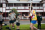 Photograph shows (add details here in one sentence). In the host state of Queensland the Queen's Baton will visit 83 communities from Saturday 3 March to Wednesday 4 April 2018. As the Queen's Baton Relay travels the length and breadth of Australia, it will not just pass through, but spend quality time in each community it visits, calling into hundreds of local schools and community celebrations in every state and territory. The Gold Coast 2018 Commonwealth Games (GC2018) Queen's Baton Relay is the longest and most accessible in history, travelling through the Commonwealth for 388 days and 230,000 kilometres. After spending 100 days being carried by approximately 3,800 batonbearers in Australia, the Queen's Baton journey will finish at the GC2018 Opening Ceremony on the Gold Coast on 4 April 2018.