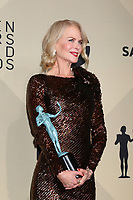 LOS ANGELES - JAN 21:  Nicole Kidman at the 24th Screen Actors Guild Awards - Press Room at Shrine Auditorium on January 21, 2018 in Los Angeles, CA