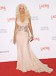 "Christina Aguilera at LACMA's ""The Unmasking"" The Lynda & Stewart Resnick Exhibition Pavilion Opening Gala at       The Los Angeles County Museum of Art in Los Angeles, California on September 25,2010                                                                               © 2010 DVS / Hollywood Press Agency"
