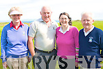 COMPETING: The Kelliher Toyota Dealer team competing in the Captains Charity Day in aid of Enable Ireland at Tralee Golf Club on Saturday l-r: Mary and Martin Murphy (Ballybunion Golf Club), Fiona Lally (Tralee Golf Cub) and Joe Cotter (Ballyheigue Golf Club).