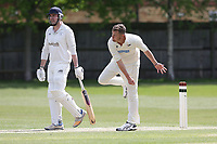 J Graham of Finchley during Finchley CC vs Brondesbury CC (batting), ECB National Club Championship Cricket at Arden Field on 12th May 2019