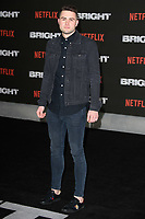 "Jake Boys<br /> arriving for the ""Bright"" European premiere at the BFI South Bank, London<br /> <br /> <br /> ©Ash Knotek  D3364  15/12/2017"