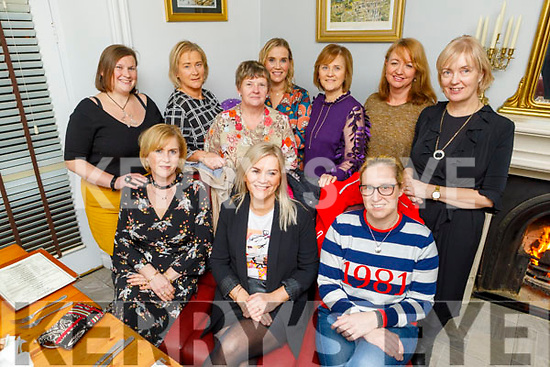 Marie Sheehan from Kilflynn celebrating her birthday in Bella Bia on Sunday.<br /> Seated l to r: Alice Molyneaux, Marie Sheehan, Leah McCarthy<br /> Standing: Vicky McCarthy, Sheila Molyneaux, Ann McCarthy, Aine Behan, Kay O'Connor, Breda and Mary McCarthy