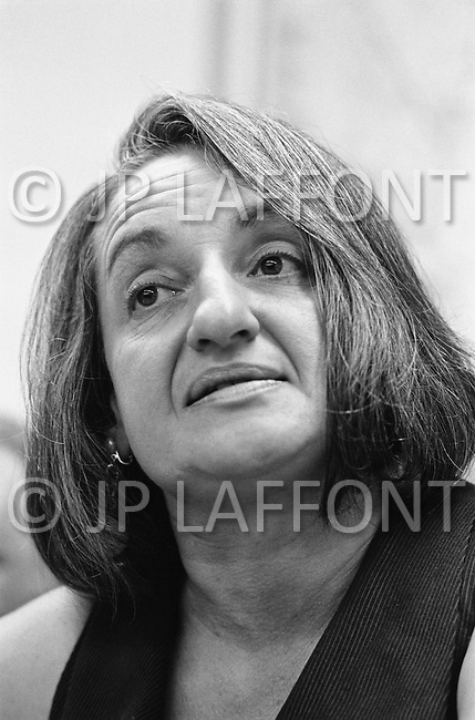May 1970. Women's rights activist Betty Friedan in New York. Friedan was a founding member of the feminist movement NOW (National Organization for Women). Image by © JP Laffont