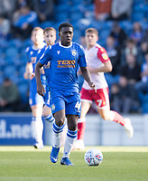 Kwame Poku of Colchester United in action during Colchester United vs Stevenage, Sky Bet EFL League 2 Football at the JobServe Community Stadium on 5th October 2019