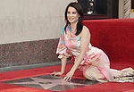 Lucy Liu Honored With Star On The Hollywood Walk Of Fame on May 01, 2019 in Hollywood, California.<br /> a_Lucy Liu 012