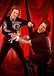 Buckcherry guitarist Keith Nelson & vocalist Josh Todd.