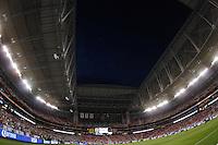 stadium during the friendly match between the Mexican Football Sleeccion Vs United States at the University of Phoenix stadium . final score Mexico 2 - USA 2.  2 Abril 2014 in Phoenix Arizona<br /> ********<br />   Estadio de la Universidad de Phoenix    durante el partido amistoso entre  la Selección Mexicana Vs Estados Unidos en Estadio de la Universidad de Phoenix.<br /> marcador final Mexico 2 - USA 2.  2 Abril 2014 in Phoenix Arizona<br /> Copyright.©LuisGutierrez
