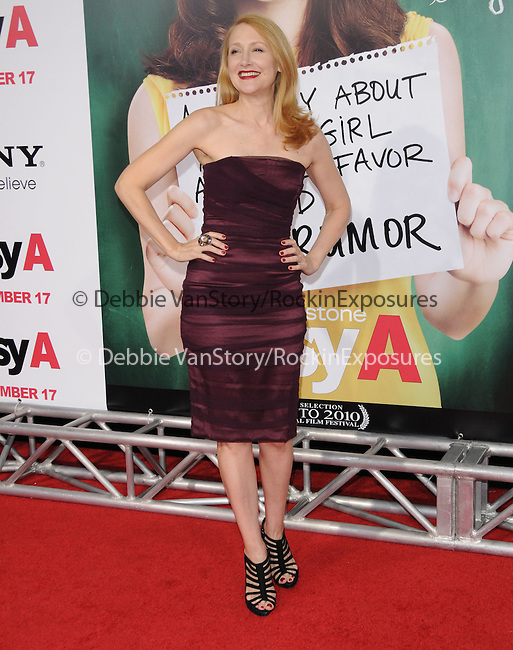 """Patricia Clarkson at the Screen Gems' L.A. Premiere of """"Easy A"""" held at The Grauman's Chinese Theatre in Hollywood, California on September 13,2010                                                                               © 2010 Hollywood Press Agency"""