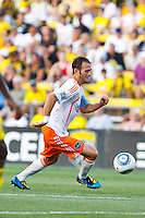 24 JULY 2010:  Brad Davis of the Houston Dynamo (11) during MLS soccer game between Houston Dynamo vs Columbus Crew at Crew Stadium in Columbus, Ohio on July 3, 2010. Columbus defeated the Dynamo 3-0.