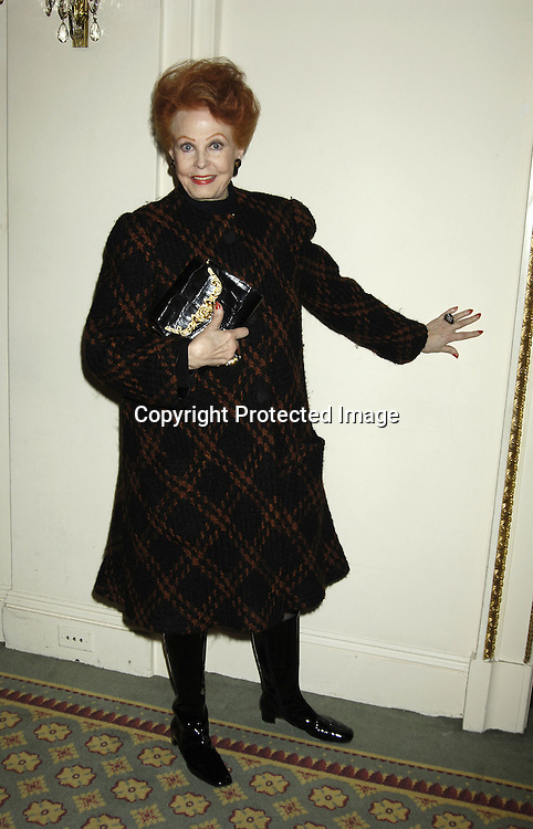 Arlene Dahl ..at the 17th Annual PAL Women of the Year Luncheon on October 26, 2005 at The Pierre Hotel. Lorraine Bracco and Susan Lyne were the honorees. ..Photo by Robin Platzer, Twin Images