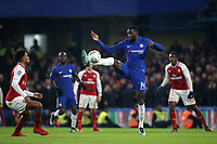 Tiemoue Bakayoko of Chelsea in action during Chelsea vs Arsenal, Caraboa Cup Football at Stamford Bridge on 10th January 2018