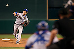 Las Vegas 51s' Logan Verrett pitches against the Reno Aces, in Reno, Nev., on Saturday, Sept. 6, 2014. The Aces won 7-3, to win the Pacific Conference Championship Series. <br /> Photo by Cathleen Allison