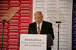 America China Public Affairs Institute Luncheon Jan 2016
