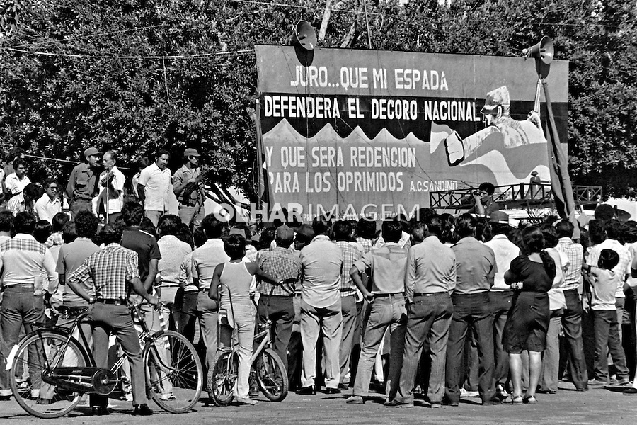 Aniversário da revolução Sandinista. Leon. Nicarágua. 1981. Foto de Juca Martins.