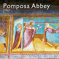 Pictures of Pomposa Abbey Romanesque Frescoes - Italy