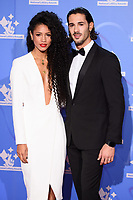 Vick Hope and Graziano Di Prima<br /> celebrating the inspirational winners in this year's National Lottery Awards, the search for the UK's favourite National Lottery-funded projects.  The glittering National Lottery Awards show, hosted by Ore Oduba, is on BBC One at 10.45pm on Wednesday 26th September.<br /> <br /> ©Ash Knotek  D3434  21/09/2018
