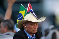 BRASILIA, DF, 22.11.2018 - CUBANOS-PARTIDA   Médicos cubanos no aeroporto de Brasília, nesta quinta, 22.(Foto:Ed Ferreira / Brazil Photo Press)