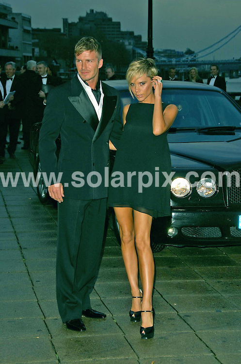 **ALL ROUND PICTURES FROM SOLARPIX.COM**.**WORLDWIDE SYNDICATION RIGHTS**.David and Victoria Beckham .Arriving at the Sport Industry Awards at the Old Billingsgate market in London today.JOB REF:  3627   MSR    DATE: 29.03.07.**MUST CREDIT SOLARPIX.COM OR DOUBLE FEE WILL BE CHARGED* *UNDER NO CIRCUMSTANCES IS THIS IMAGE TO BE REPRODUCED FOR ANY ONLINE EDITION WITHOUT PRIOR PERMISSION*