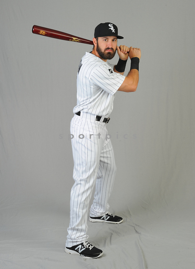 Chicago White Sox Adam Eaton (1) during photo day on February 28, 2015 in Glendale, AZ.