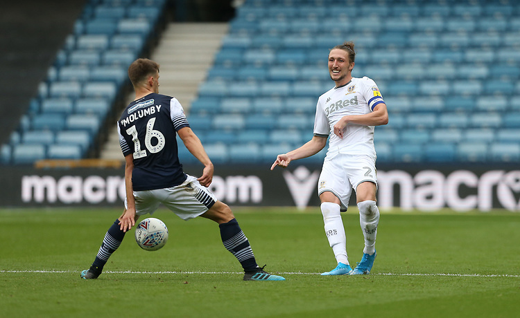Photographer Rob Newell/CameraSport<br /> <br /> The EFL Sky Bet Championship - Millwall v Leeds United - Saturday 5th October 2019 - The Den - London<br /> <br /> World Copyright © 2019 CameraSport. All rights reserved. 43 Linden Ave. Countesthorpe. Leicester. England. LE8 5PG - Tel: +44 (0) 116 277 4147 - admin@camerasport.com - www.camerasport.com