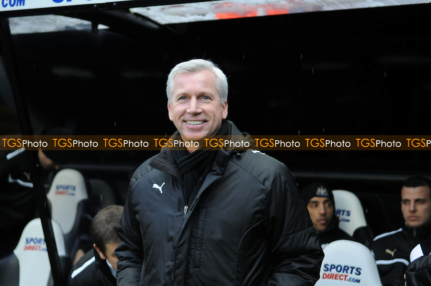 Newcastle United Manager Alan Pardew  - Newcastle United vs Reading - Barclays Premier League Football at St James Park, Newcastle upon Tyne - 19/01/13 - MANDATORY CREDIT: Steven White/TGSPHOTO - Self billing applies where appropriate - 0845 094 6026 - contact@tgsphoto.co.uk - NO UNPAID USE.