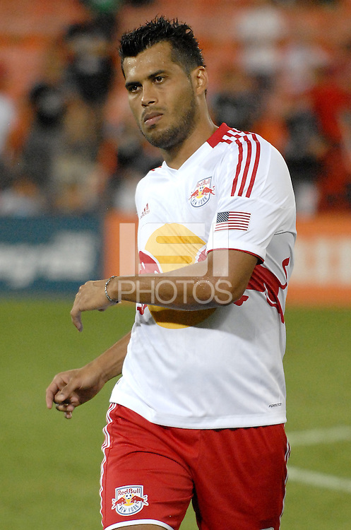 New York Red Bulls defender Willman Conde (2) The New York Red Bulls tied D.C. United 2-2 at RFK Stadium, Wednesday August 29, 2012.