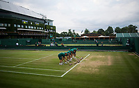 LONDON, ENGLAND - JULY 09:  at All England Lawn Tennis and Croquet Club on July 9, 2018 in London, England. (Photo by TPN/Getty Images)