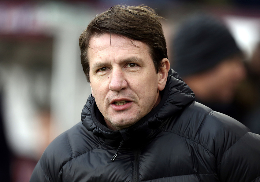 Barnsley manager Daniel Stendel <br /> <br /> Photographer Rich Linley/CameraSport<br /> <br /> Emirates FA Cup Third Round - Burnley v Barnsley - Saturday 5th January 2019 - Turf Moor - Burnley<br />  <br /> World Copyright © 2019 CameraSport. All rights reserved. 43 Linden Ave. Countesthorpe. Leicester. England. LE8 5PG - Tel: +44 (0) 116 277 4147 - admin@camerasport.com - www.camerasport.com