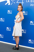 Adele Exarchopoulos during the 'Le Fidèle' photocall at the 74th Venice International Film Festival at the Palazzo del Casino on September 08, 2017 in Venice, Italy