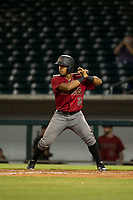 AZL Diamondbacks second baseman Eddie Hernandez (2) at bat against the AZL Cubs on August 11, 2017 at Sloan Park in Mesa, Arizona. AZL Cubs defeated the AZL Diamondbacks 7-3. (Zachary Lucy/Four Seam Images)