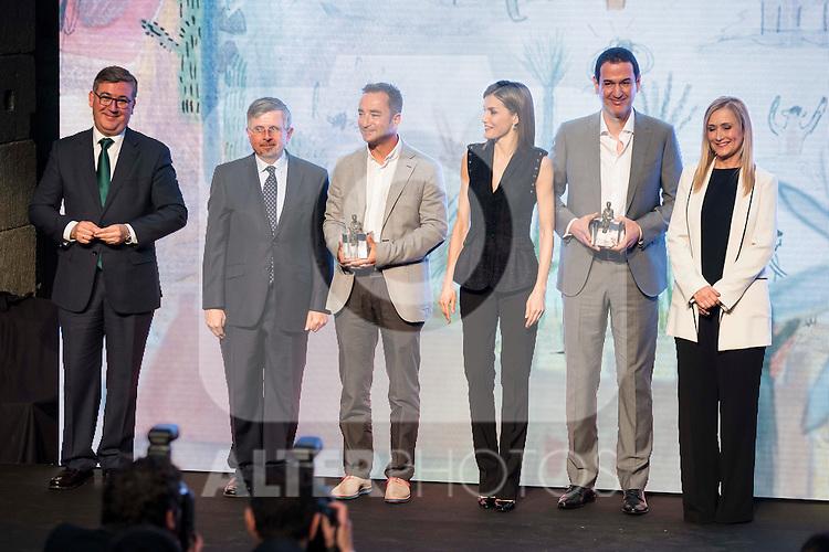 "XXX during the delivery of SM Awards of children's literature ""El Barco de Vapor"" and ""Gran Angular"" at Real Casa de Correos in Madrid. April 19,2016. (ALTERPHOTOS/Borja B.Hojas)"
