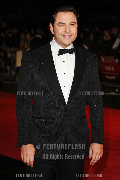 "David Walliams at the premiere for ""Great Expectations"" being shown as the closing film of the London Film Festival 2012, Odeon Leicester Square, London. 21/10/2012 Picture by: Steve Vas / Featureflash"