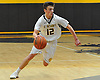 Mike Pavinelli #12 of St. Anthony's looks to get to the hoop during a non-league varsity boys basketball game against Ward Melville at St. Anthony's High School on Thursday, Dec. 15, 2016. St. Anthony's won by a score of 52-48.
