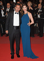 Adam Sandler &amp; wife Jackie Sandler at the premiere for &quot;The Meyerowitz Stories&quot; at the 70th Festival de Cannes, Cannes, France. 21 May  2017<br /> Picture: Paul Smith/Featureflash/SilverHub 0208 004 5359 sales@silverhubmedia.com
