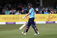 Gary Ballance of Yorkshire leaves the field having been dismissed for 91 during Essex Eagles vs Yorkshire Vikings, Royal London One-Day Cup Play-Off Cricket at The Cloudfm County Ground on 14th June 2018