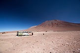 BOLIVIA, Atacama Desert, Border Crossing of Chile and Bolivia just 45 minutes outside of San Pedro de Atacama.
