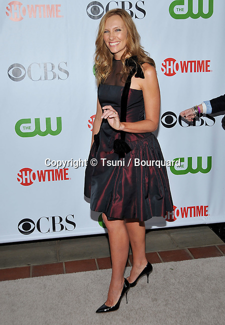 Toni Colette  -<br /> CBS - tca - Summer Press Tour at the Huntington Library in Pasadena.