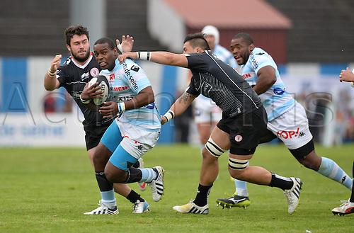 12.04.2014. Paris, France. Top 14 Rugby Union. Racing Metro versus Biarritz.  Eddy Ben Arous (rm)