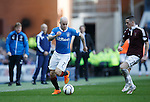 Nicky Law on the wing