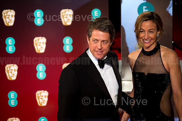 Hugh Grant & Anna Elisabet Eberstein.<br />