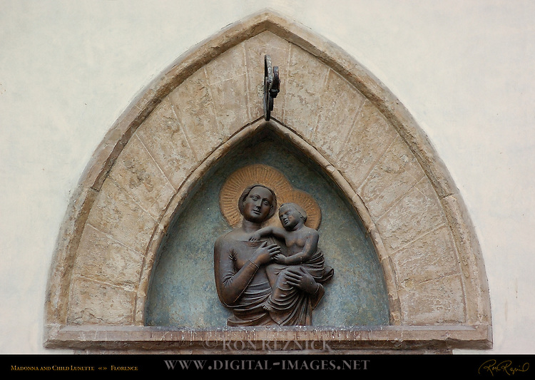 Madonna and Child Lunette Florence