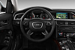 Car pictures of steering wheel view of a 2013-2016 Audi A4 Allroad Premium Quattro 4 Door Wagon